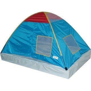 GigaTent Dream Catcher Kids Canopy Play Tent Size Twin - Blue