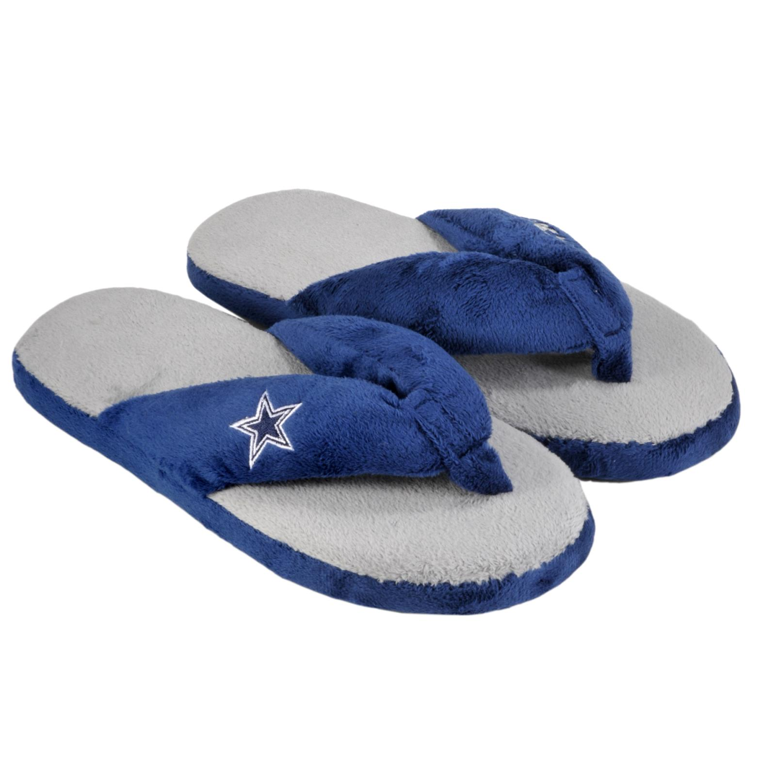 Dallas Cowboys Women's Flip Flop Thong Slipper
