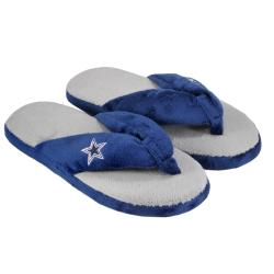 Dallas Cowboys Women's Flip Flop Thong Slipper - Thumbnail 1