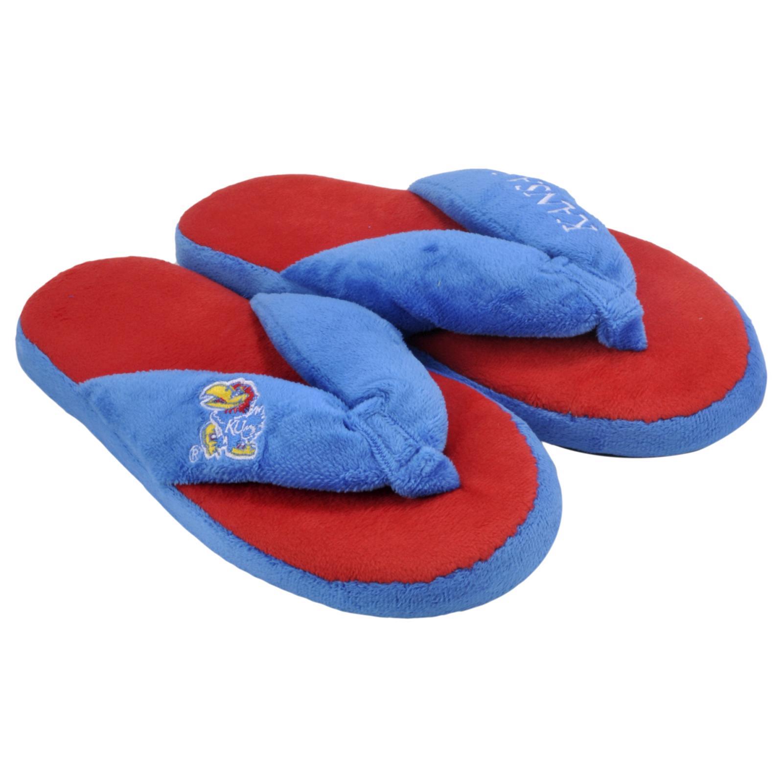 Kansas Jayhawks Women's Flip Flop Thong Slipper
