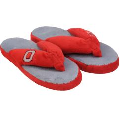 Ohio State Buckeyes Women's Flip Flop Thong Slipper - Thumbnail 2