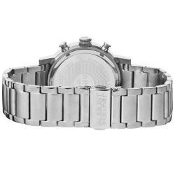 August Steiner Men's Quartz Stainless-Steel Chronograph Watch - Thumbnail 1