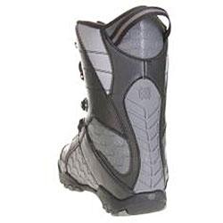 Lamar Justice Boy's Black Snowboard Boots