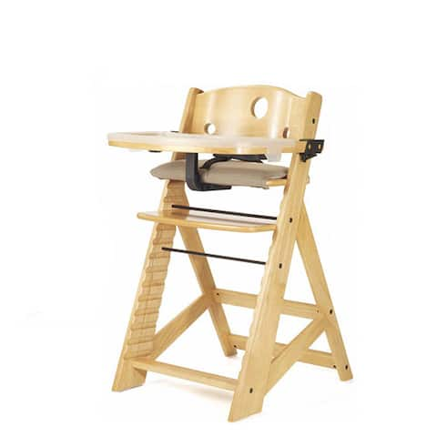 Marvelous Shop Height Right Natural High Chair With Tray Free Ocoug Best Dining Table And Chair Ideas Images Ocougorg