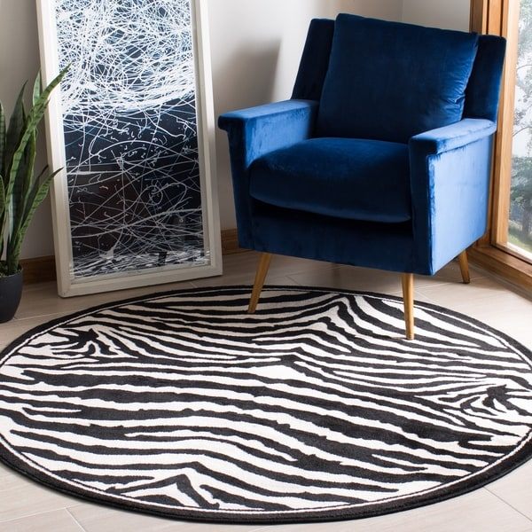 Safavieh Lyndhurst Adile Modern Zebra Rug