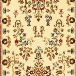 Safavieh Lyndhurst Traditional Oriental Ivory/ Rust Runner (2'3 x 12') - Thumbnail 2