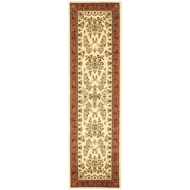 Safavieh Lyndhurst Traditional Oriental Ivory/ Rust Runner Rug - 2'3 x 16'