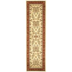 Safavieh Lyndhurst Traditional Oriental Ivory/ Rust Runner Rug - 2'3 x 16' - Thumbnail 0
