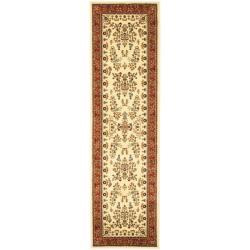 Safavieh Lyndhurst Traditional Oriental Ivory/ Rust Runner (2'3 x 22')