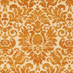 Safavieh Porcello Fine-spun Damask Cream/ Rust Runner Rug (2'4 x 6'7) - Thumbnail 2