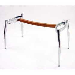 Italian Chrome Modern Dining Table - Thumbnail 1