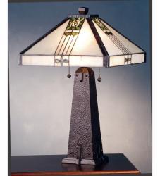 Pasadena Rose Bronze Table Lamp - Thumbnail 1
