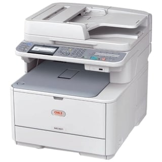 Oki MC361 LED Multifunction Printer - Color - Plain Paper Print - Des