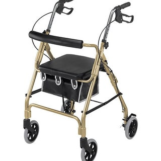 Mabis Ultra Lightweight Gold Aluminum Rollator