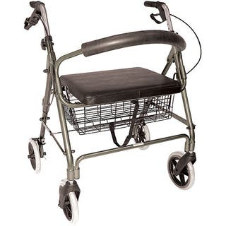 Mabis Titanium Lightweight Extra Wide Heavy Duty Aluminum Rollator|https://ak1.ostkcdn.com/images/products/5400358/P13197004.jpg?impolicy=medium