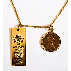 American Coin Treasures Lincoln Wheat-Ear Penny Pendant