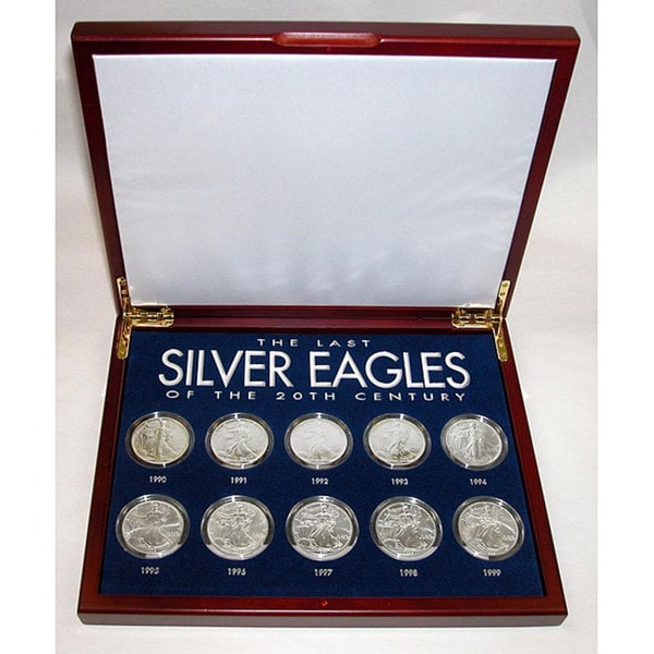 American Coin Treasures The Last Silver Eagles of the 20th Century