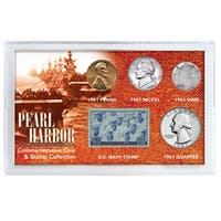 American Coin Treasures Pearl Harbor Coin/ Stamp Collection