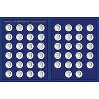 American Coin Treasures JFK Half Dollar Collection in Deluxe Portfolio