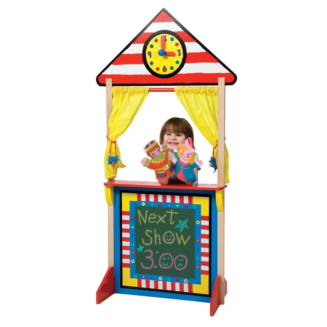 Alex Toys Floor Standing Puppet Theatre with Clock