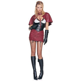 Dress Up America 3-piece Gothic Red Riding Hood Costume