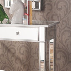 Thumbnail 2, Silver Orchid Olivia Mirrored Accent Table. Changes active main hero.