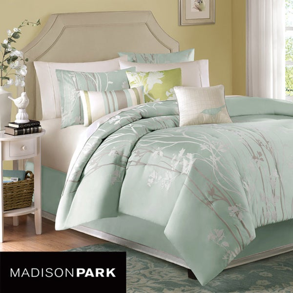 Madison Park Athena 7-piece King/Cal-King Comforter Set
