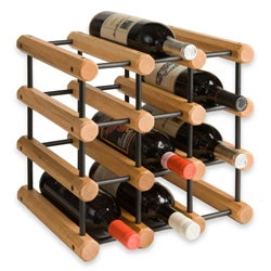 J.K. Adams 40-bottle Penguin Wood Wine Rack