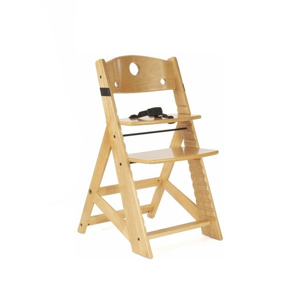 Height Right Natural Finish Kid's Chair