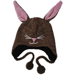 Wool Bunny Jungle Beanie (Nepal)