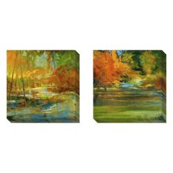 Gallery Direct Sylvia Angeli 'Late Summer's Expectation' 2-piece Art Set