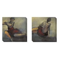 Gallery Direct Kim Coulter 'Lady in Red' 2-piece Art Set