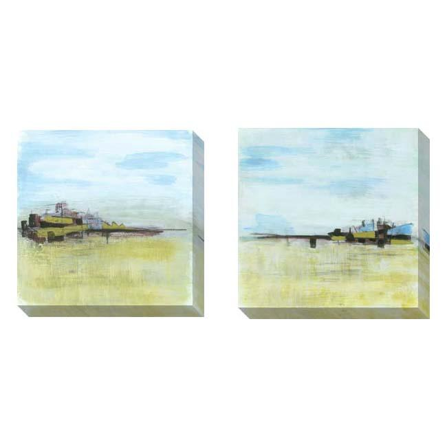 Gallery Direct Todd Graham 'Geo Shapes' 2-piece Art Set