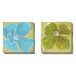 Gallery Direct Laura Gunn 'Color Study A' 2-piece Gallery-wrapped Canvas Art Set