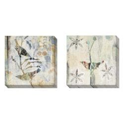 Gallery Direct Judy Paul 'Receiving Light' Set of 2 Gallery Wrapped Canvas Art Set