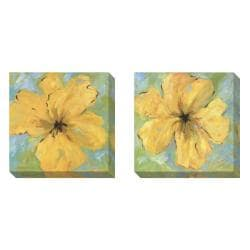 Gallery Direct Karen Wilkerson 'Opulence' Set of 2 Gallery Wrapped Canvas Art Set