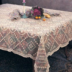Tuscany Square LaceTopper 54 inches x 54 inches