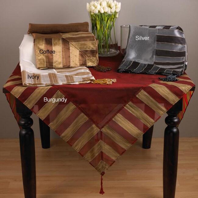 Striped Classique Tablecloth 60x60