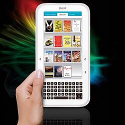 The Sharper Image Literati White Wireless Reader - Thumbnail 1