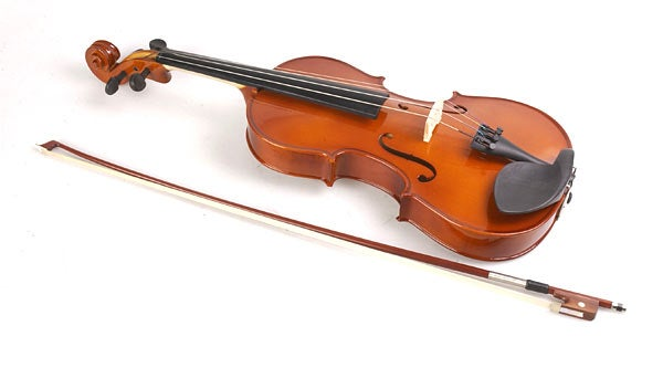 a photo of an old viola
