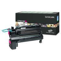 Lexmark C792A1MG Toner 6,000 Page-Yield Magenta