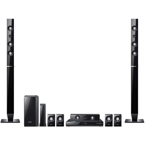 Samsung HT-C6930W 7 1-channel Home Theater System with 3D-ready Blu-ray  Player