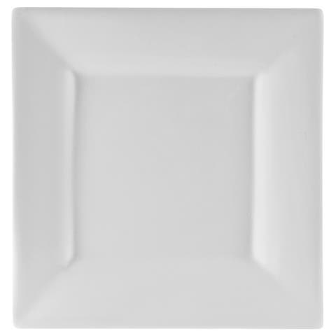 10 Strawberry Street Whittier 10-inch Square Dinner Plate (Set of 6)