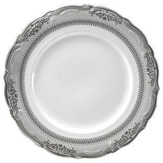 "Vanessa Platinum 9"" Lucheon Plate (Set of 6)"
