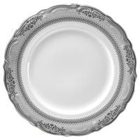 "10 Strawberry Street Vanessa Platinum 9"" Lucheon Plate (Set of 6)"