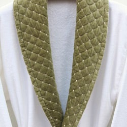 Ultra Plush Authentic Hotel and Spa Unisex  Green Bath Robe - Thumbnail 2