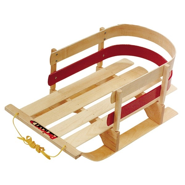Shop Flexible Flyer Padded Wood Toddler S Sled Free