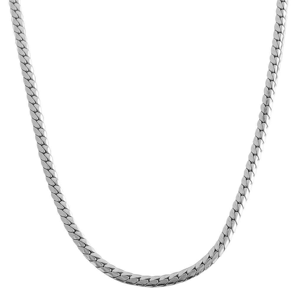 16 Inch Gold Herringbone Necklace: Shop Fremada 10k White Gold 18.25-inch Herringbone