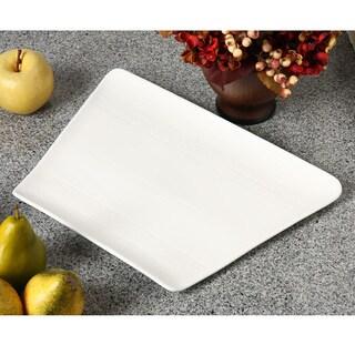 "Whittier Zen 10.5"" x 15"" Trapezoid Plate (Set of 2)"