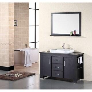 Design Element Franklin 48 Inch Modern Bathroom Vanity Set